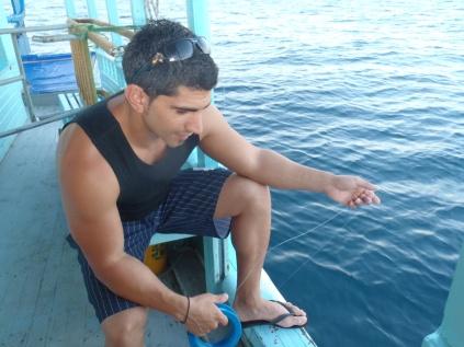 Handline Fishing In The Maldives