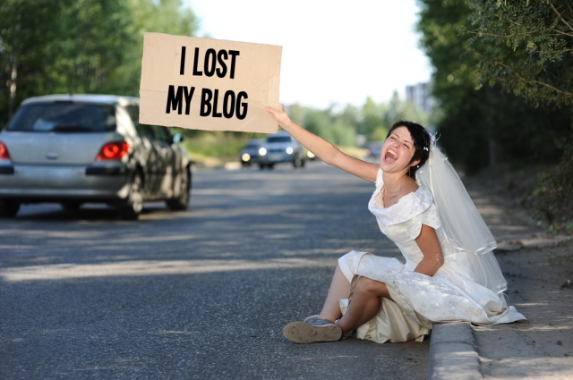 i lost my blog only