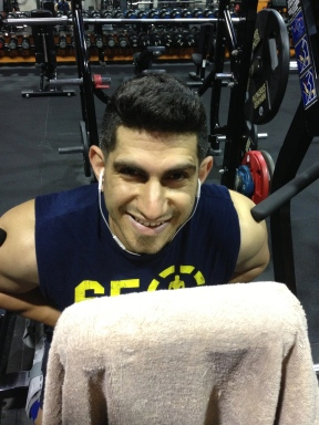Nektarios at the Gym