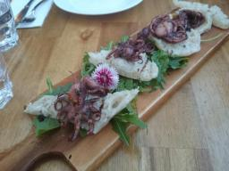 The Burrow - Starters With Octopus