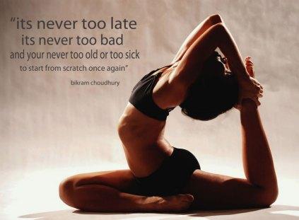 Bikram Yoga Quote