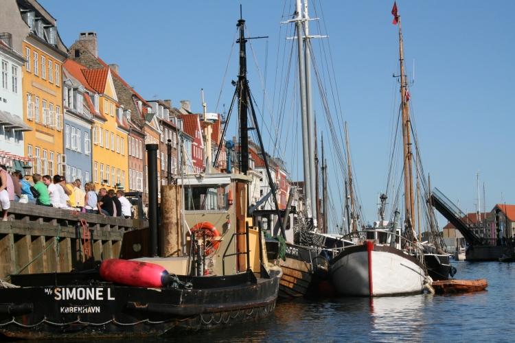 The Coloured Buildings in Copenhagen