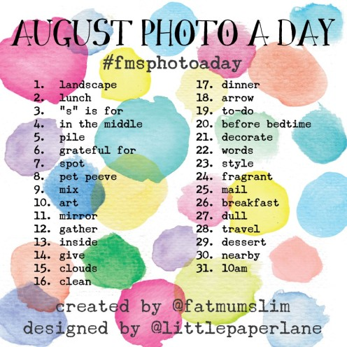 August Photo A Day