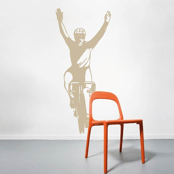 Victory Cyclist by Trendy Wall Designs
