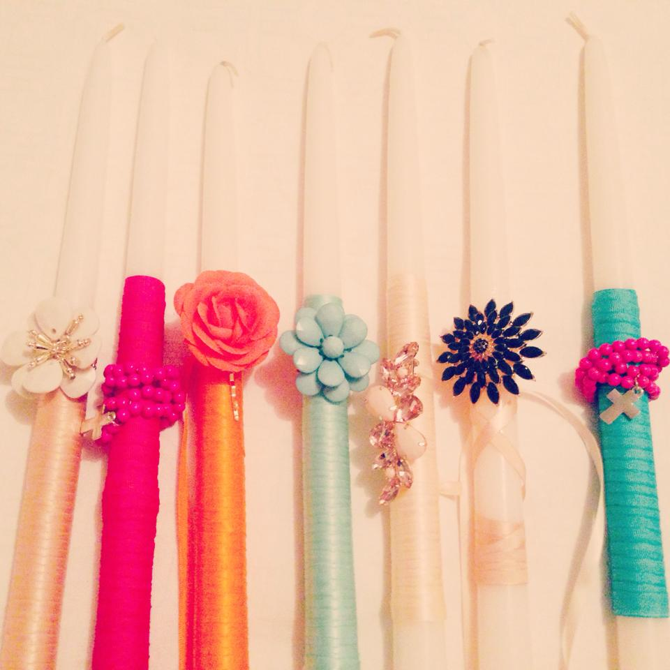 Easter Candles 2014