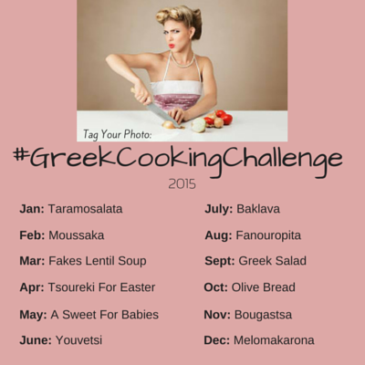 Greek Cooking Challenge 2015