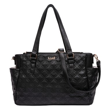 Kate Hill Baby Bag - Black