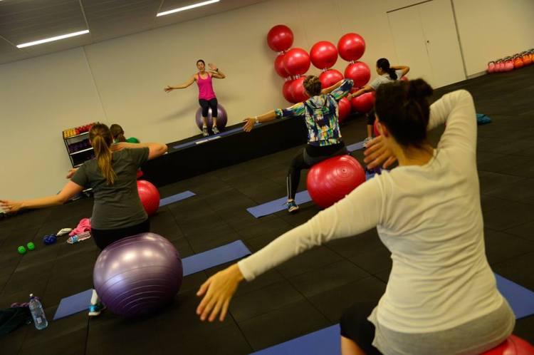 Preggi Bellies Fitness Class