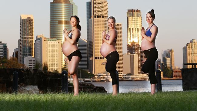 QLD_CM_NEWS_PREGNANT_YOGA_06DEC13(2)