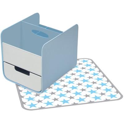 Box: Blue Lagoon Nappy Caddy