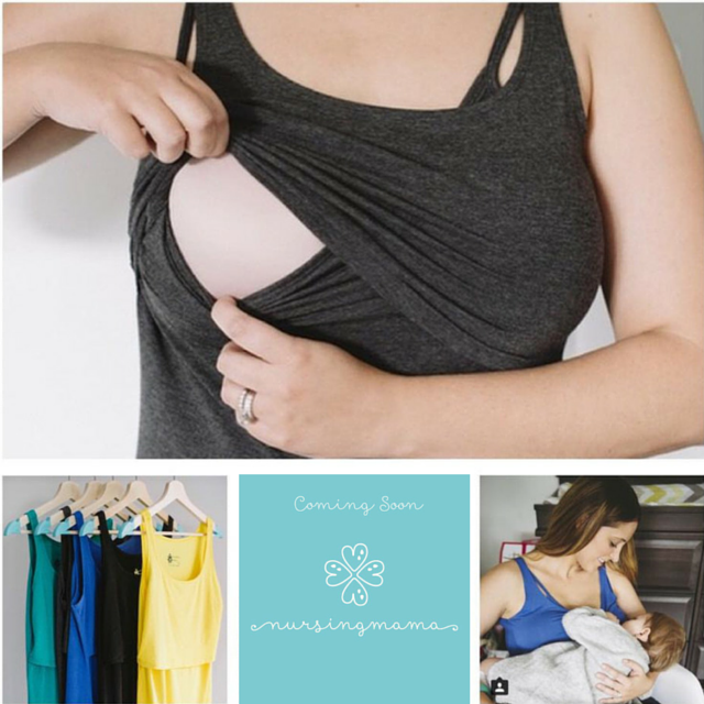 Nursing Mamas Breastfeeding Tops