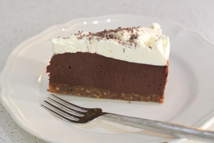 Chocolate-Silk-Pie Tenina