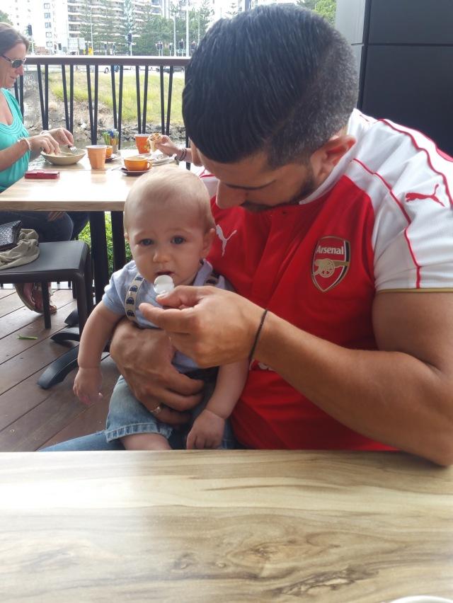Nek & Ari Baby Cino