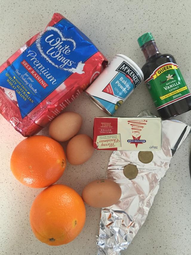 Vasilopita Thermomix Recipe - Ingredients
